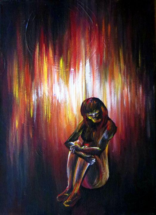 Quiet Rage - Kristen Ann's Paintings