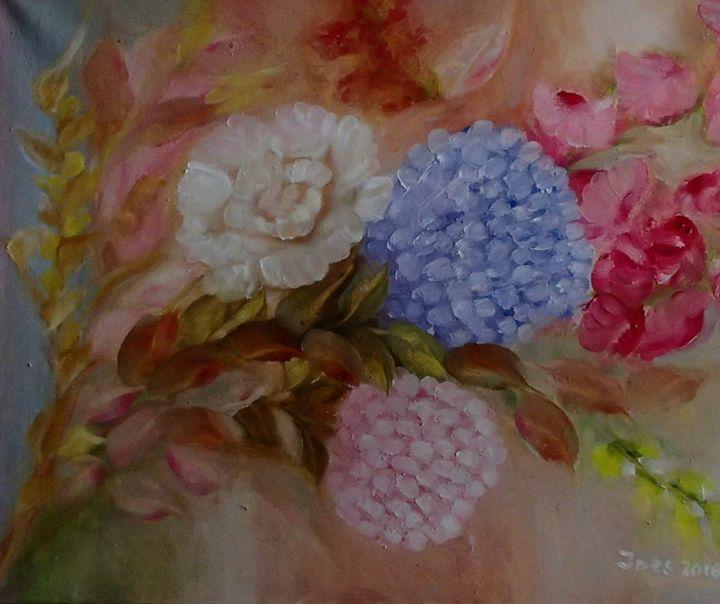 Bouquet - Innes Vranes Oil Paintings