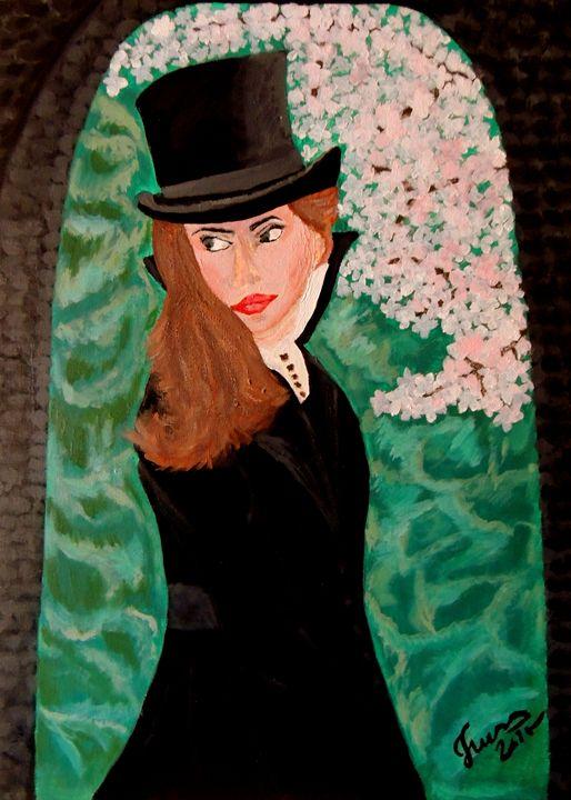 Woman - Innes Vranes Oil Paintings
