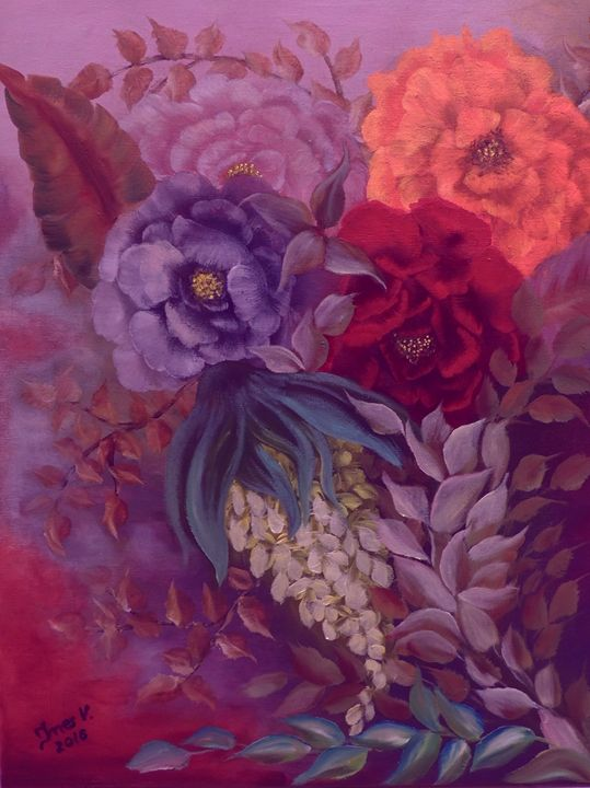 Imagination - Innes Vranes Oil Paintings