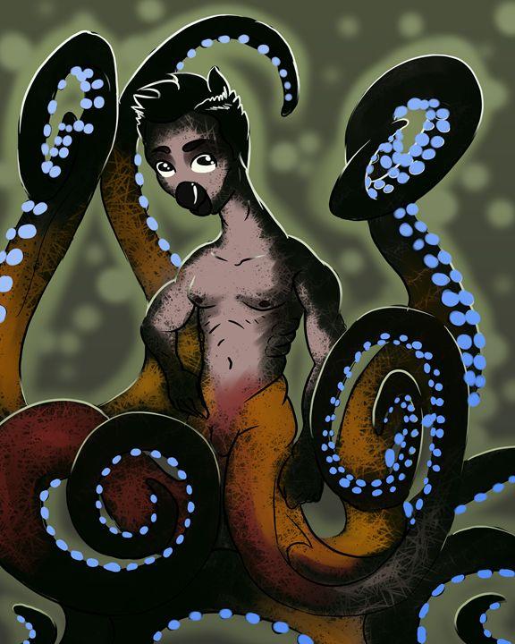 Octodude - Paul's Perfect Pixels