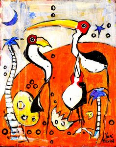 naked cranes 2
