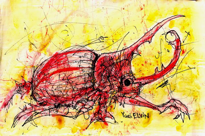 red scarab - yuri elvin