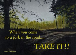 FORK IN THE ROAD YOGI BERA QUOTE