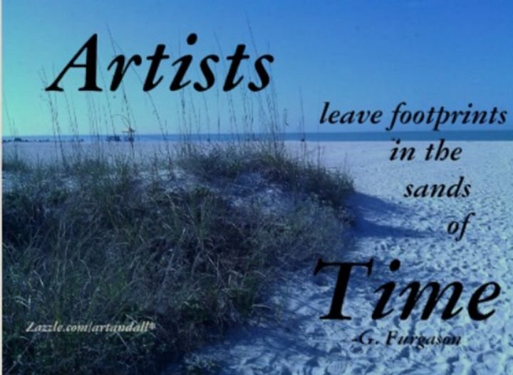 ARTISTS LEAVE FOOTPRINTS - Gerry K. Furgason
