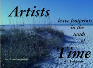 ARTISTS LEAVE FOOTPRINTS - Gerry K. Furgason