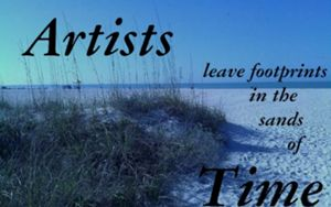 ARTISTS LEAVE FOOTPRINTS