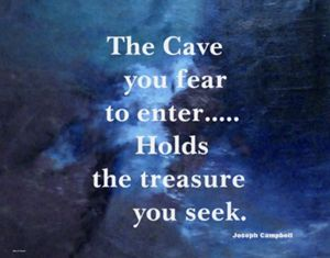 THE CAVE YOU FEAR TO ENTER