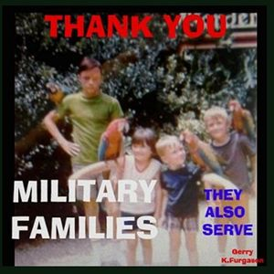 THANK YOU MILITARY FAMILIES