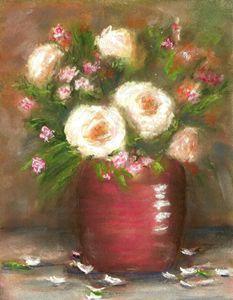 FLOWERS IN RED CROCK - Gerry K. Furgason