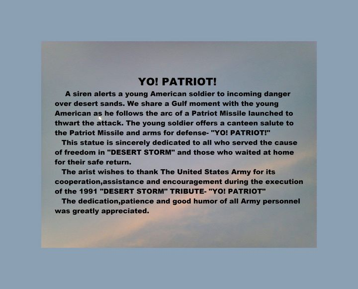 YO! PATRIOT! - Gerry K. Furgason