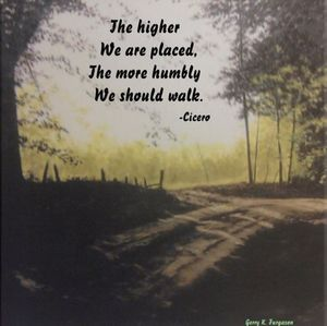 THE HIGHER WE ARE PLACED-CICERO