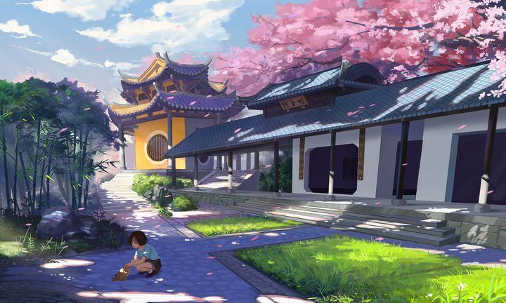 Japanese Temple Zen - SomaFromJapan