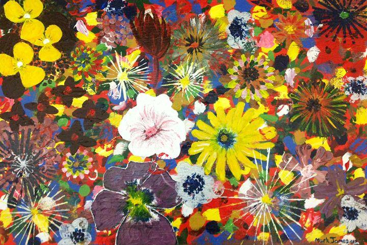 Flower Explosion - Mark James