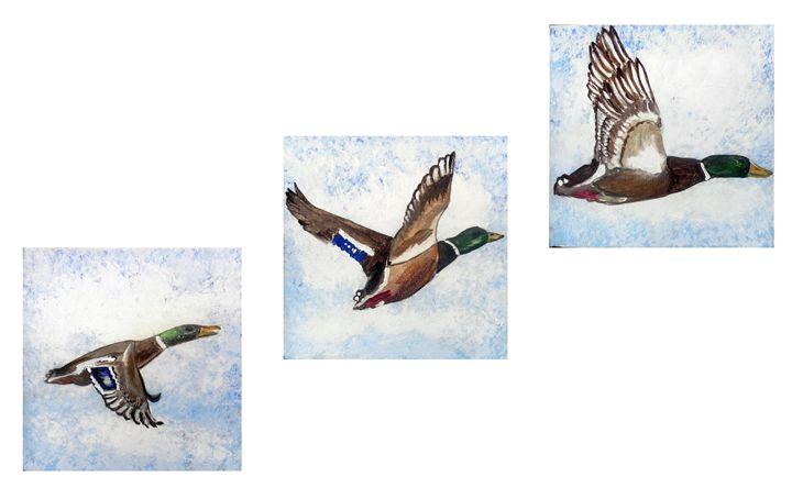 Flying Ducks - Mark James