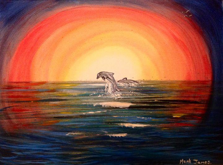 Dolphin fun - Mark James