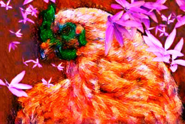 Chicken little - Digital art from Tiki