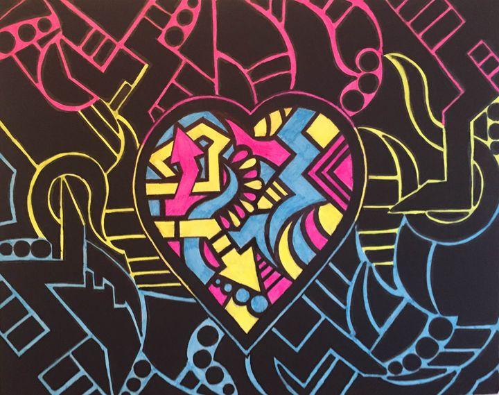 """""""Kind Heart & a Black Soul"""" - Riley Noecker Art"""