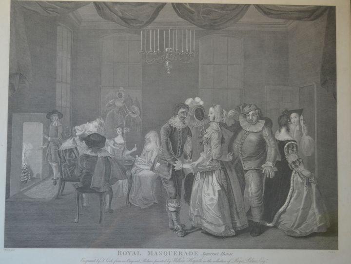 Royal Masquerade Somerset House - Lucee Deen