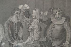 """Detail, """"Royal Masquerade"""""""