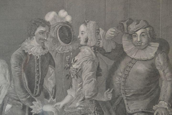 """Detail, """"Royal Masquerade"""" - Lucee Deen"""