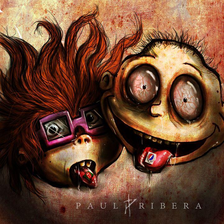Drug Rats - Paul Ribera Art