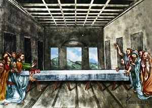 Jesus Loses Beer Pong
