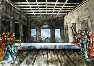 Jesus wins Beer Pong