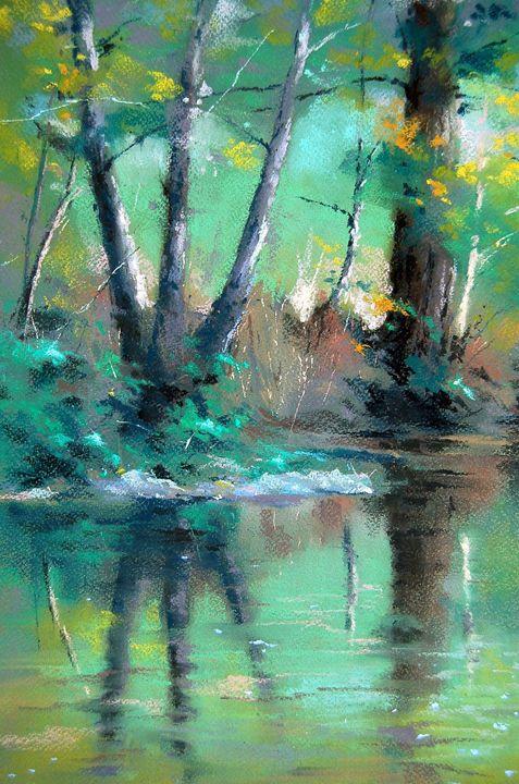 Woodland Stream - Alan Chaney
