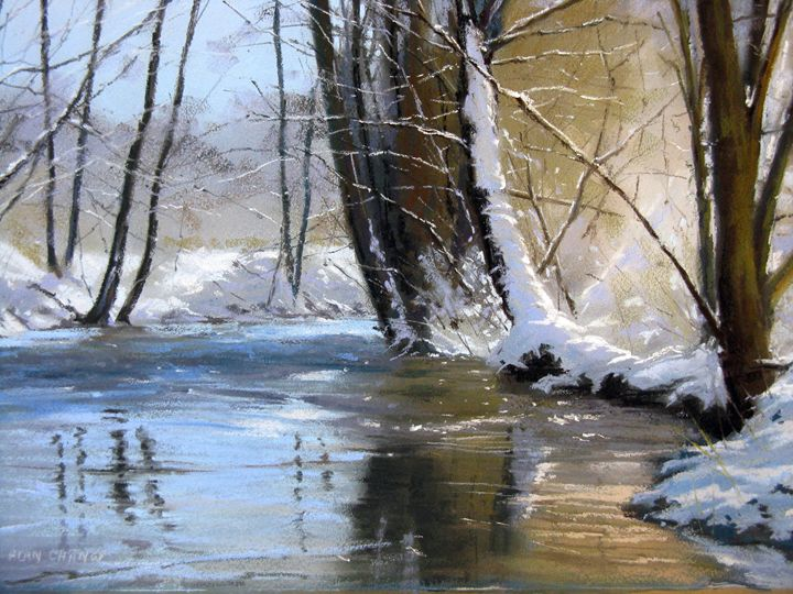 Winter Reflections - Alan Chaney