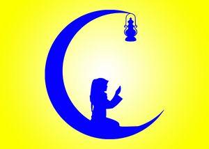 Moon Dua - islamic art