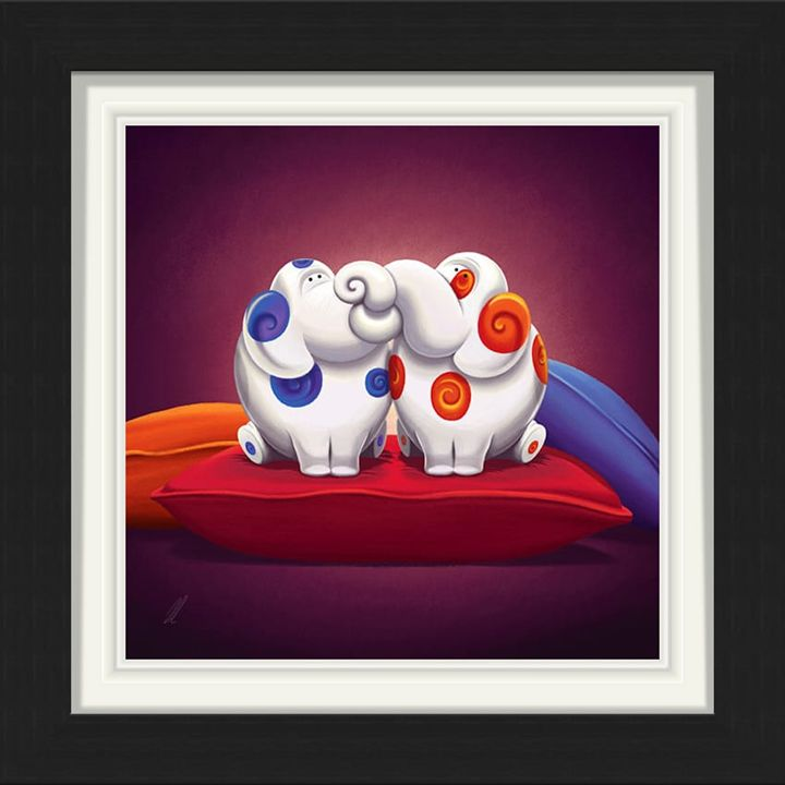Pillow Talk - Framed Limited Edition - Branded7