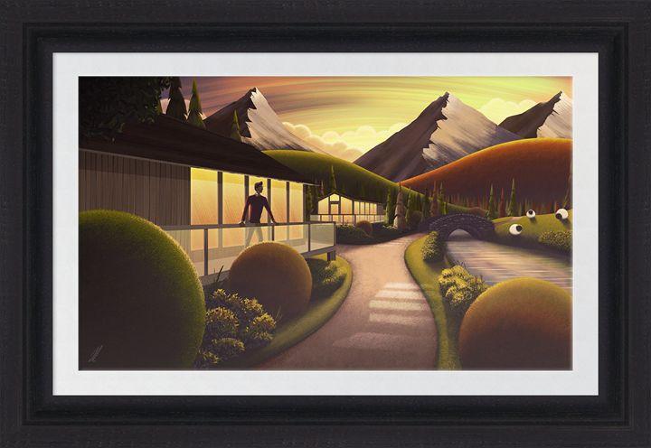 Sunset Cabin - Branded7