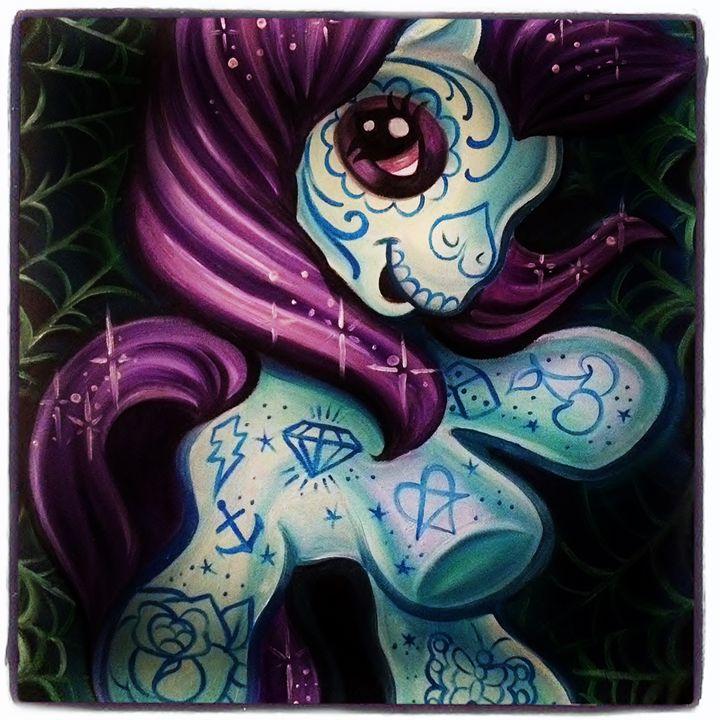 My little Muerte pony - Chantal Bobier