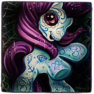 My little Muerte pony