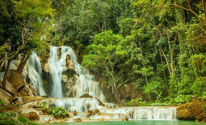 Waterfalls Kuang Si - OtaPhotoTours