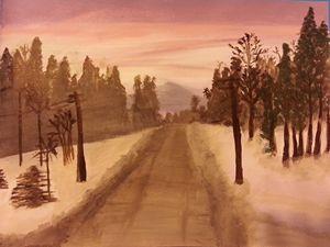Alaskan Drive Home