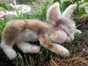 Sleepy Bunny (tan or brown)