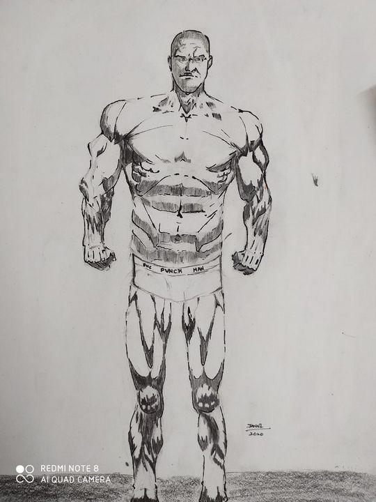 One punch man buffed - Janni's Art