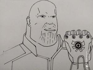 Thanos comic