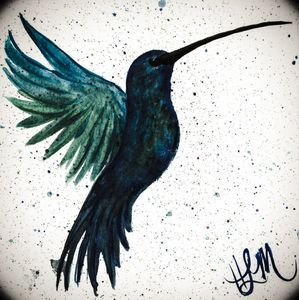 Hummingbird Twilight! - HLM- Artist & Crafter
