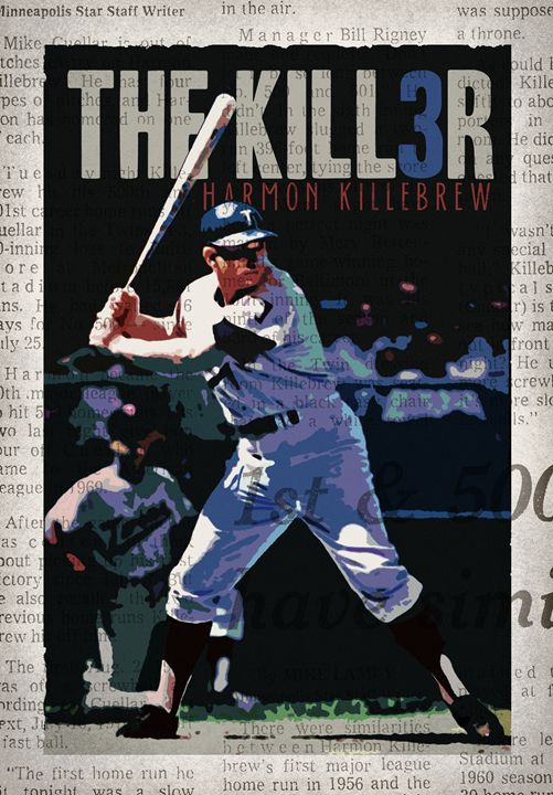 The Killer - Vintage Baseball Poster