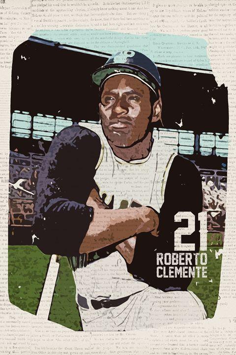 No. 21 - Vintage Baseball Poster