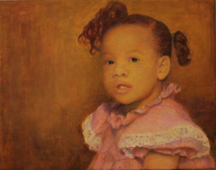Baby girl portrait - L Stephen Allen