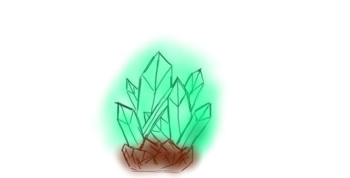 Crystals - Tim's Art