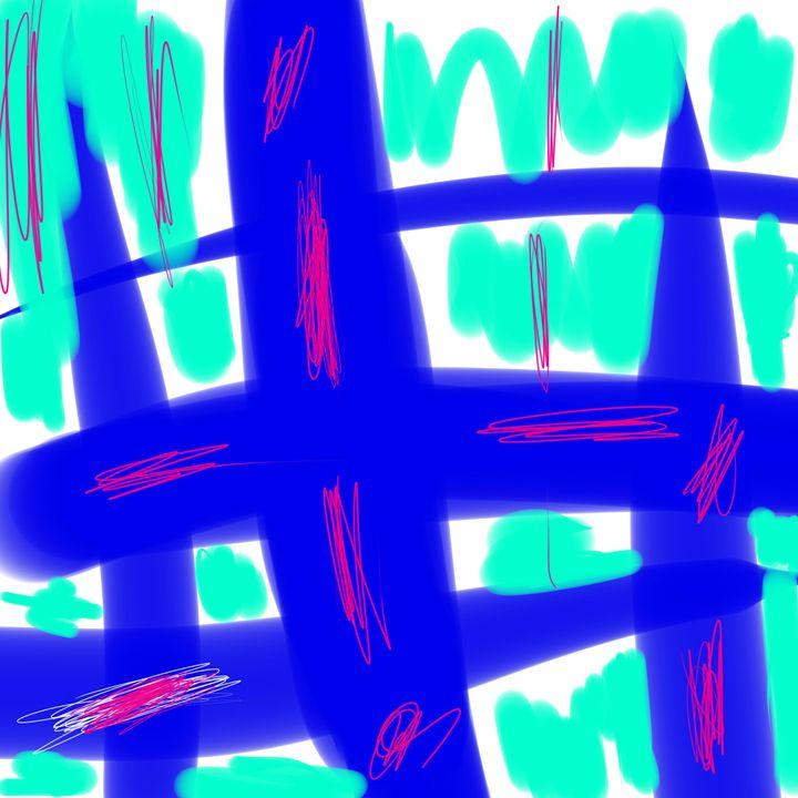 Random Lines - Tim's Art