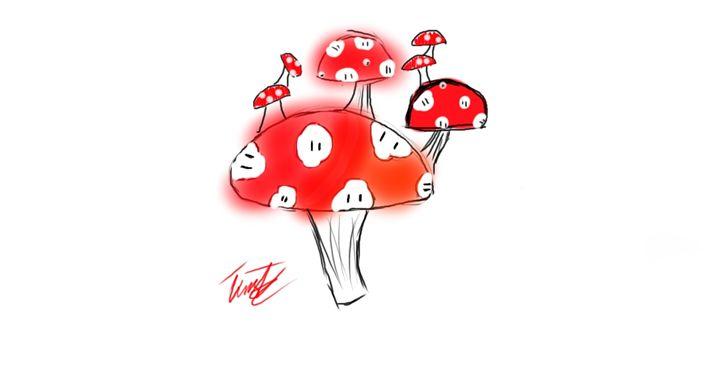 Mushroom - Tim's Art