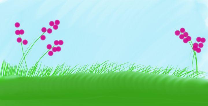 Grass Field - Tim's Art