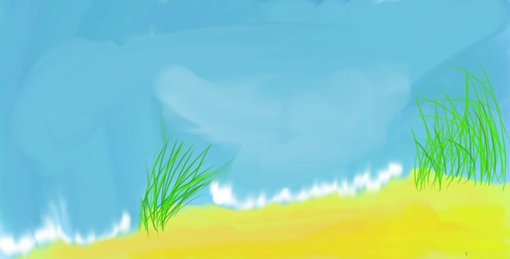 Grass dune - Tim's Art