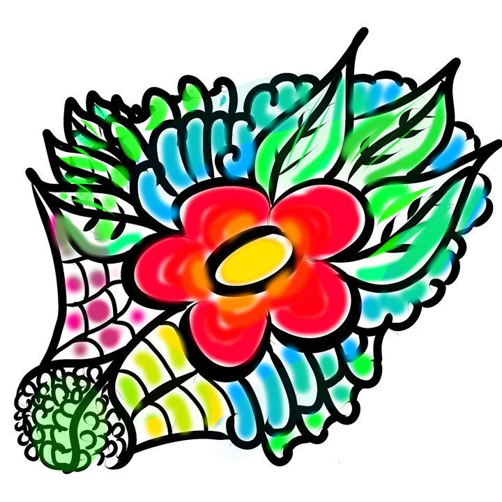 Random Flower - Tim's Art